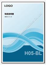 Word表紙デザインH05-BL